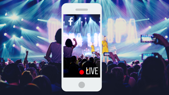 facebook marketing live stream